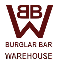 Burglar bar warehouse logo